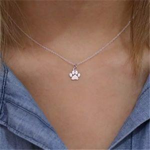 🐾 Paw print charm necklace 🐾